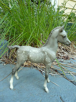 BREYER Horse Traditional Dapple Medium Grey  Proud Arabian FOAL #220