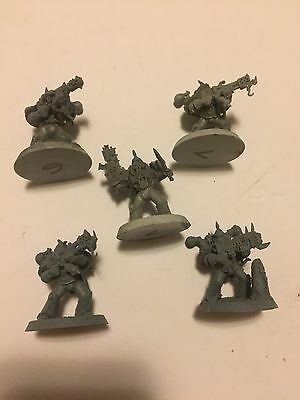Warhammer 40K Chaos Space Marines Death Guard Army Special Weapons Squad Nurgle