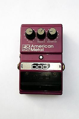 DOD FX56 AMERICAN METAL ,Vintage US made guitar effects pedal . Just Serviced