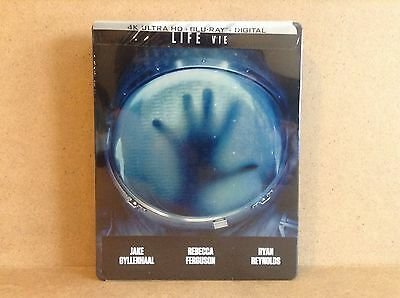 Life (SteelBook) (4k Ultra HD) (Blu-ray Combo) *BRAND NEW*