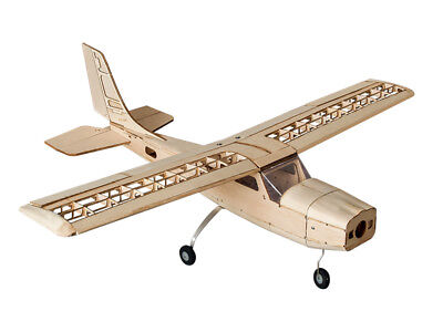 DW Hobby RC Balsa Laser-cut Electric Building Kit Cessna150 Model Airplane KIT