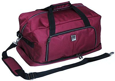 """TITAN NONSTOP Rolling Luggage Wheeled Duffel 27"""" Inches Travelbag (Red)"""