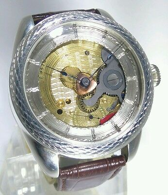 MAN STERLING SILVER FULLY ENGRAVED CUSTOM MADE WATCH 1905 ELGIN POCK.W.movement