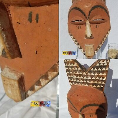 UNRIVALED Eastern Bapende Pende Mask Figure Sculpture Statue Fine African Art
