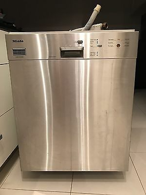 Miele Dishwasher Stainless Steel Built In