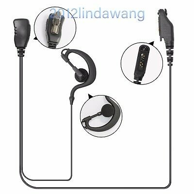 Earloop Headset Earpiece Kit for Kenwood NX320E NX220E UBZ-LJ8 BE TK-3301 Radio