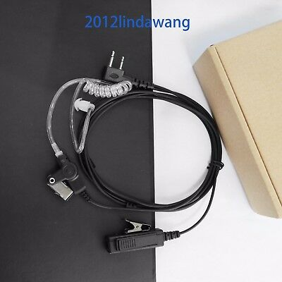 Palm Mic with Earpiece Earphone for ICOM IC-F3032 IC-F4032 IC-F4029 F3102 Radio
