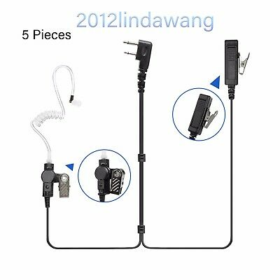 Palm Mic with Earpiece Earphone for ICOM IC-F4022 IC-F25SR IC-F3062 Radio