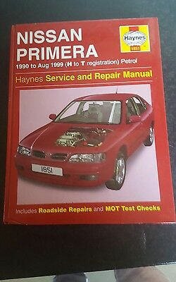 Nissan Primera (1990-99) Service and Repair Manual by Mark Coombs, Steve Rendle…
