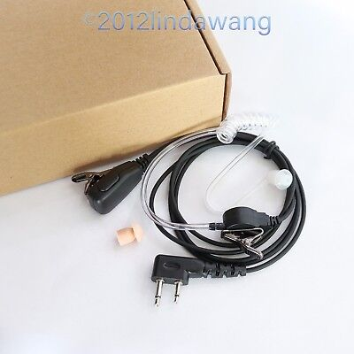 Earpiece Earphone Headset for ICOM IC-F4022 IC-F15 F25 F25SR IC-F3062 Radio