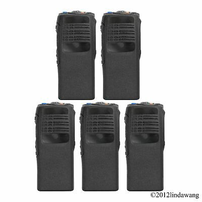 5X Black Housing Cover Case Replacement Kit for Motorola GP340 Portable Radio