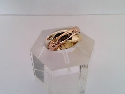 Original Les Must de Cartier Ring 18k 750 Gold Tricolor Grösse 56 ca. 9 gramm