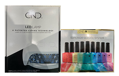 CND Shellac LED Lamp & CND Shellac Superior Service Kit The Complete Starter Kit