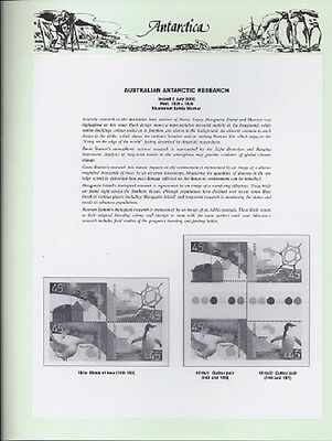 NEW - 2002 Seven Seas Antarctic Hingeless Pages