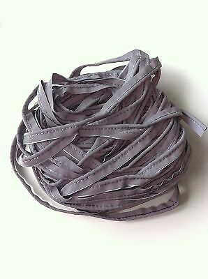 12 METRES hi-vis reflective silver/grey piping JOB LOT! 12m uncut! Super Cheap!