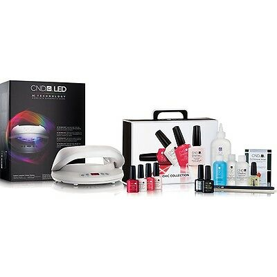 CND Shellac LED Lamp & CND Shellac Chic Collection The Complete Starter Kit