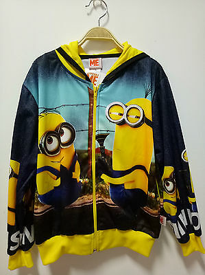 Dispicable ME Minion Made Polyester Jacket official licence for kids Size S