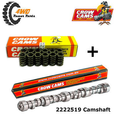 Crow Cams Ford Falcon EF EL 4L 6 Cyl Stage 3 Performance Camshaft, Valve Springs