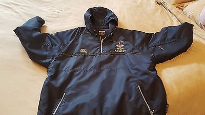 "Canterbury ""St Aloysius"" rugby tour jacket from 2004 size XL"