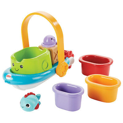 Fisher-Price Stackin' Tubtime Boat - NEW