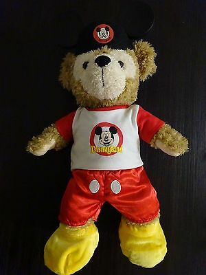 Build A Bear Disneyland Mickey Mouse Outfit