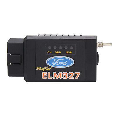 Bluetooth OBD2 Diagnostic Tool Forscan Ford ELM327 CAN Scanner Wireless Switch