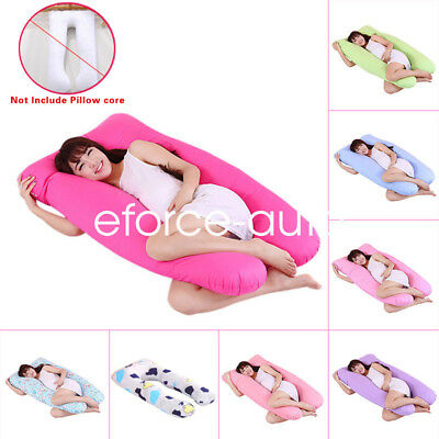 Multifunctional Maternity Comfortable Pregnant Body U Shaped Pillow Cover