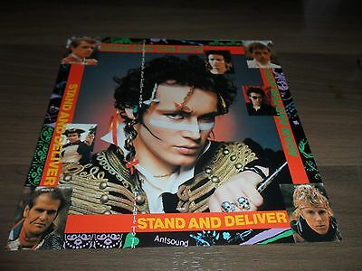 Adam And The Ants.stand And Deliver.japanese 7'' Vinyl.mint