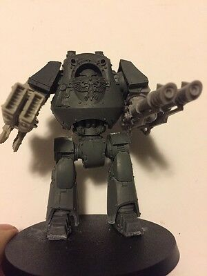 Warhammer 40K Space Marines Army Resin Model  Contemptor Dreadnought Unpainted !