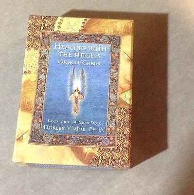 Healing With The Angels Oracle Cards Doreen Virtue