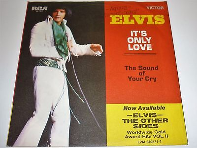 Elvis Presley Single : Its Only Love, 48 - 1017