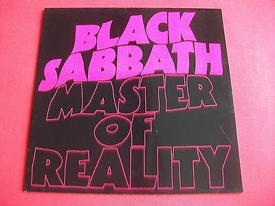 Black Sabbath - Master Of Reality Lp - Nel 6004-5 , 1986 Made In Germany