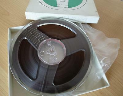 "RAPHONE REEL TO REEL TAPE - 5 3/4""- 1200ft LP - Fully Erased and cleaned"
