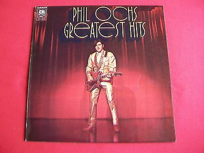 Phil Ochs - Greatest Hits - Uk Lp 1970 Amls 973 - Excellent Condition