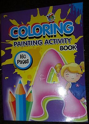 Joblot 24 160 Page Colouring Book New