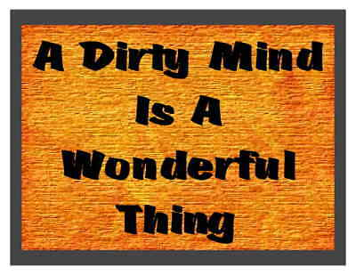 3f2bfdb0a Custom Made T Shirt A Dirty Mind Is A Wonderful Thing Funny Amusing Humor