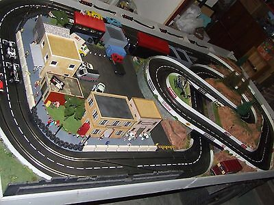 Carrera Slotcar Layout Fully Sceniced