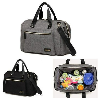 AU Large Mummy Diaper Bag Nappy Baby Bottle Handbag Shoulder Crossbody Bags New