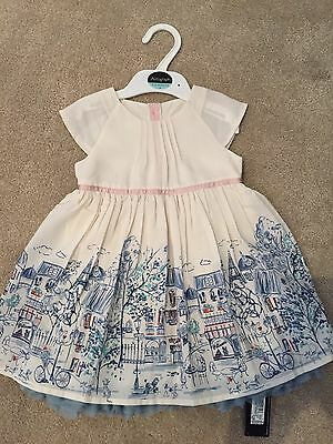 Baby girl M&S Occasion Dress - 9-12 Months