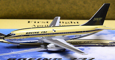 """<NEW> Inflight 200 BOEING 737-100 First Flight N73700 """"Polished with Stand"""""""