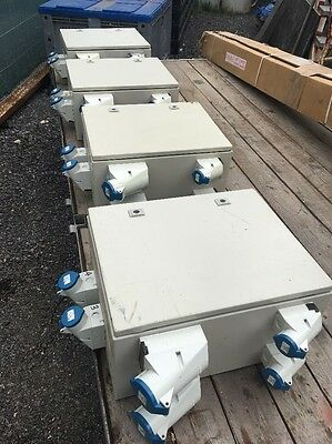 Power Distro - Marquee Event Stage Show Electrical - Job Lot Of Four