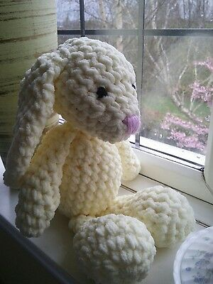 Beautiful bunny hand knitted crochet soft toys