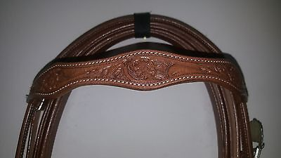 Western Horse stock bridle style 2
