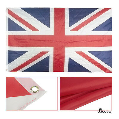 Large 5X 3Ft British Union Jack Great Britain United Kingdom Team Flag Banner