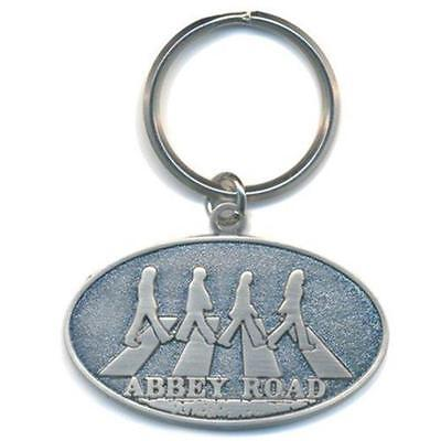 Official Licensed - The Beatles - Abbey Road Crossing Keychain Metal Keyring