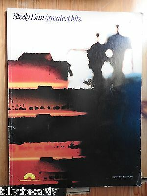 Steely Dan - Greatest Hits song book piano vocal guitar