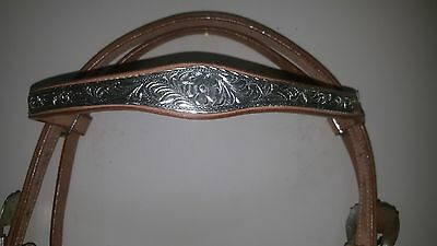 Western Horse stock bridle style 7