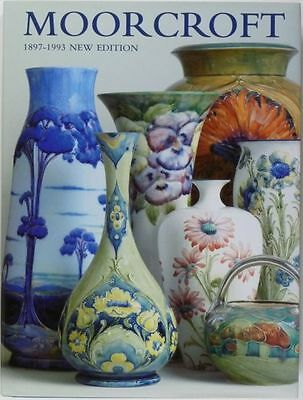Antique Moorcroft Pottery - Colorful British Ceramic Book w/ Many Illustrations