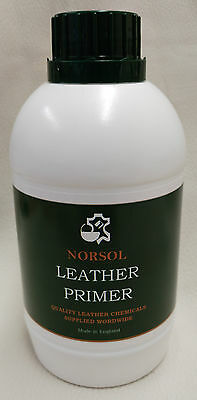 NORSOL Leather Primer for adhesion of leather colourants 500ml