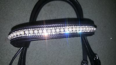 SH Horse English Bridle Style 15 (pearls) without reins